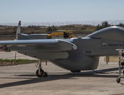 Frontex confía en los servicios de vigilancia de drones de Airbus