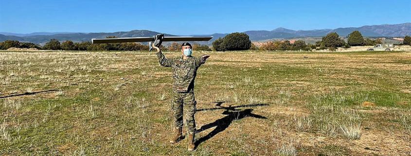 Unidades de élite españolas reciben las primeras unidades del Seeker UAS