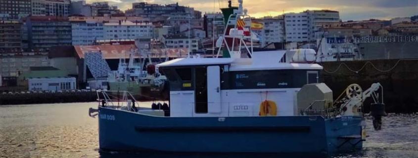 El USV Mar Dos completa tres meses de operación