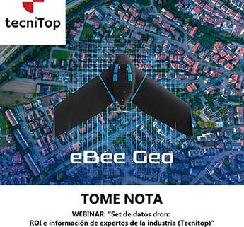 Webinar: Nuevo eBee Geo de senseFly