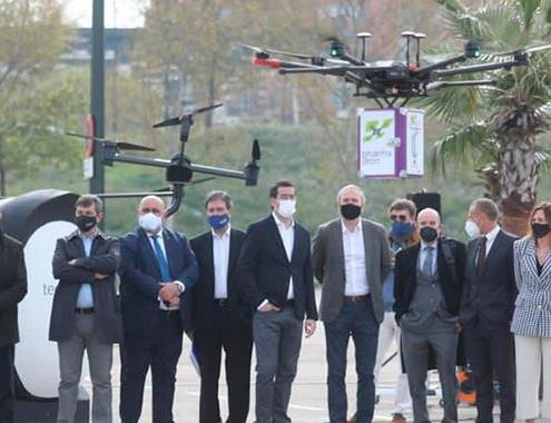 Era Drone Hub: Primer espacio urbano en Europa de pruebas de vuelo