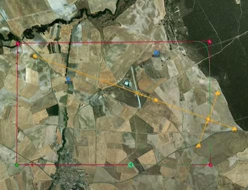 Visualización de tráfico circundante para ACAS mediante UAV Navigation