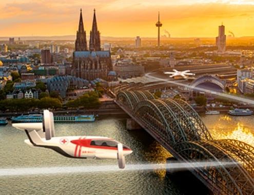 EASA publica los resultados del primer estudio de la UE sobre movilidad aérea urbana