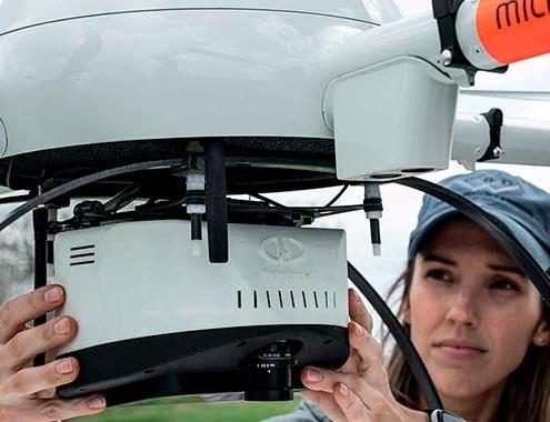 Vaya más allá de los levantamientos de límites con drones LiDAR