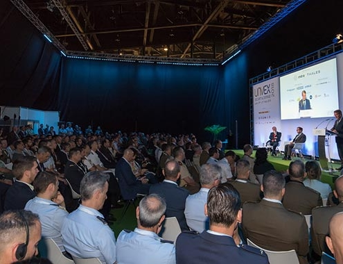 Las máximas autoridades del sector de los UAVs participan en UNVEX 2021