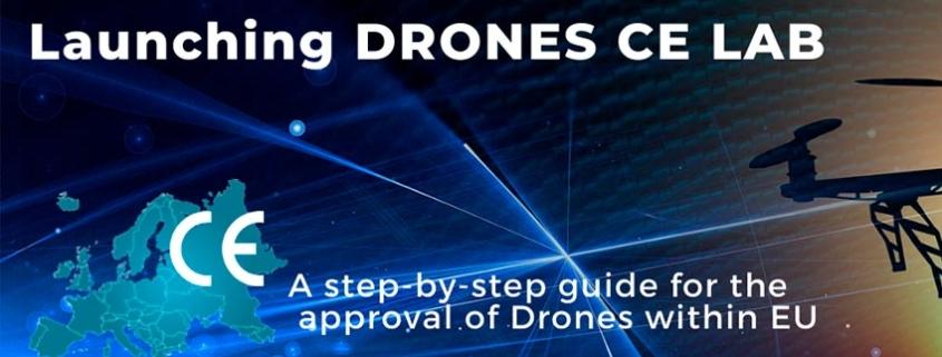 Drones CE LAB, la nueva guía para fabricantes de drones