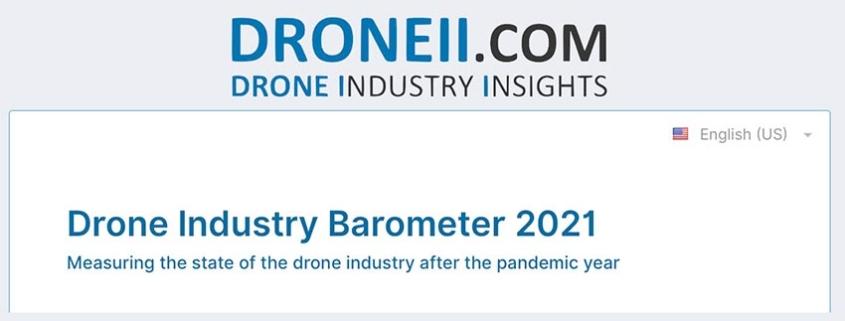 IDS y Droneii colaboran en la elaboración del Barómetro de la industria de drones 2021