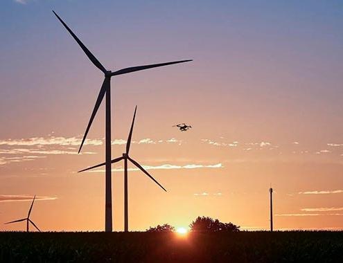 La tecnología de drones apoya la reducción de la contaminación