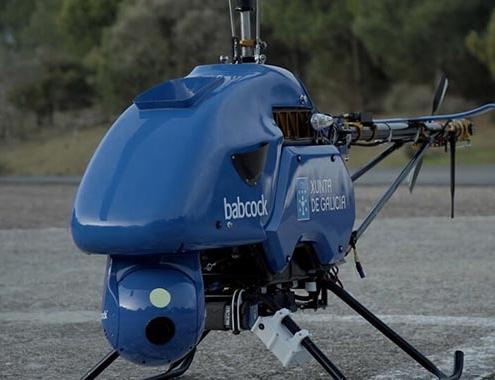Babcock, autorizado para volar drones comerciales más allá de línea de vista